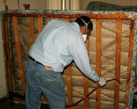 Обработка кровати