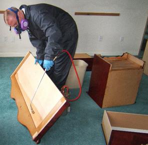 Обработка мебель