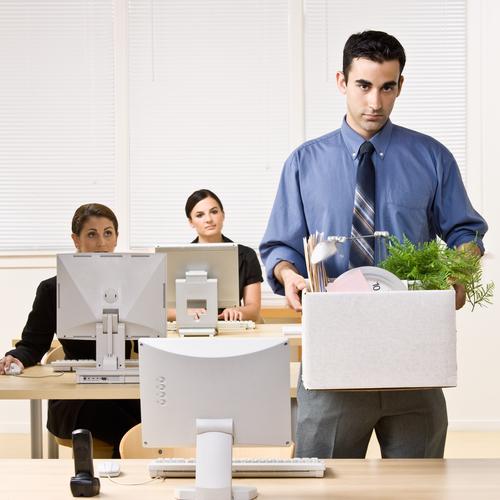 Смена места работы