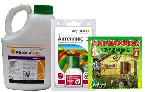 Фосфорорганические инсектициды