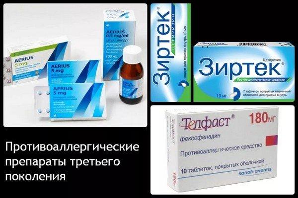 Современные антигистаминные средства