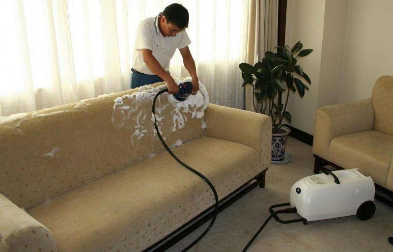Мытье мягкой мебели