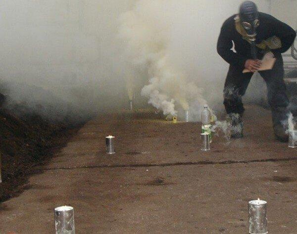 Дымовая завеса от назойливых вредителей