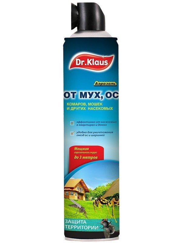 Эффективен от ос, мух, комаров